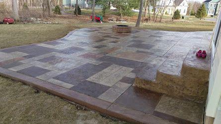Hoffman Stamped Concrete Grandslate
